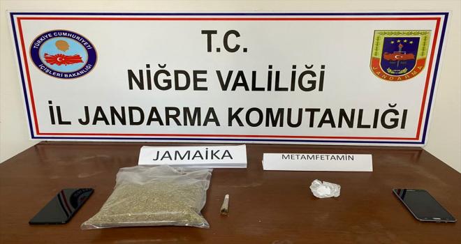 Niğde'de 1 kilogram sentetik uyuşturucu ele geçirildi