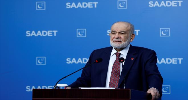 Saadet Partisi Genel Başkanı Karamollaoğlu, eğitim sürecine ilişkin değerlendirmede bulundu: