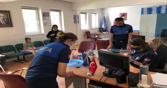 Seydişehir'de zabıta ekiplerinden dilencilere yönelik denetim