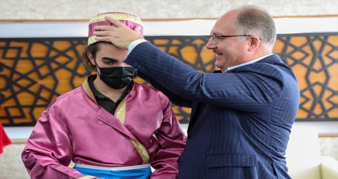 Sivas Belediye Başkanı Bilgin'e Ahilik Haftası ziyareti