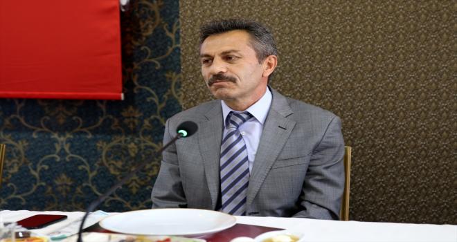 Sivas Milli Eğitim Müdürü Aslan, basın mensuplarıyla tanıştı