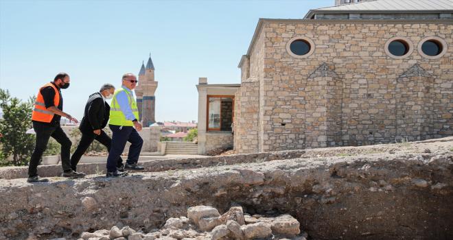 Sivas'ta 100 milyon lira bütçeli Kale Projesi'nde 2. etap çalışmalar başladı
