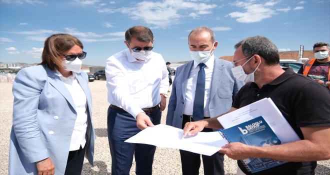 Sivas'ta 1071 yatak kapasiteli hastane inşaatı hızla yükseliyor