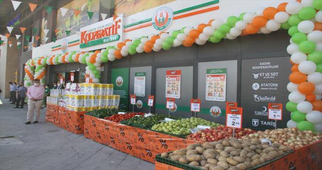 Tarım Kredi Kooperatif Marketlerin 471. şubesi Kayseri'de açıldı