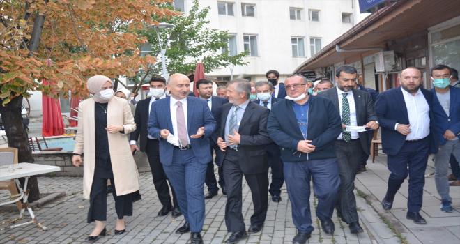 Ulaştırma ve Altyapı Bakanı Adil Karaismailoğlu Ayaş ilçesini ziyaret etti
