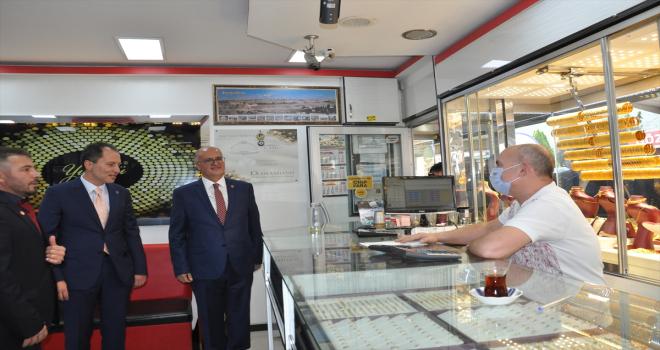 Yeniden Refah Partisi Genel Başkanı Fatih Erbakan, Konya'da konuştu:
