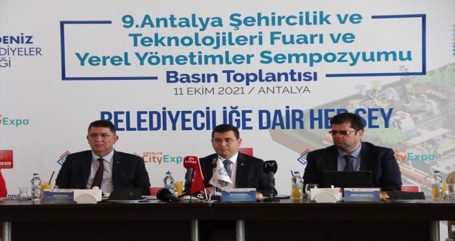 9. Antalya City Expo Şehircilik ve Teknolojileri Fuarı 11 Kasım'da kapılarını açacak