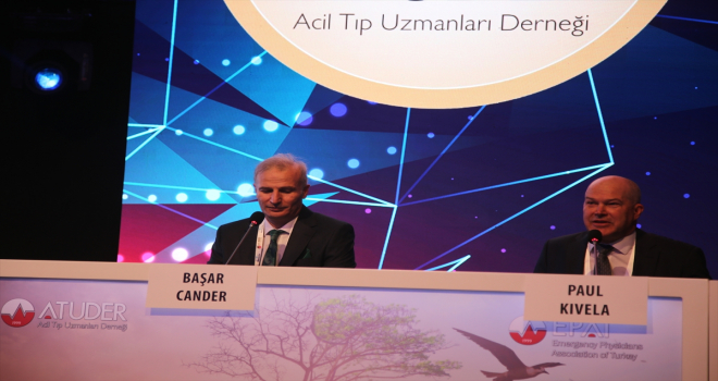Acil tıp uzmanları, Antalya'da buluştu