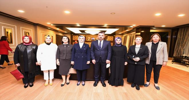 AK Partili milletvekillerinden Pursaklar'a ziyaret
