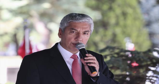 Ankara'da 17 Ekim Dünya Astsubaylar Günü dolayısıyla şehitler anıldı