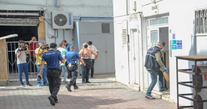 Antalya'da 7. kattan düşen Kırgız turist ağır yaralandı