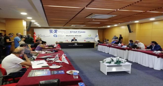 Antalya Kitap Fuarı 15 Ekim'de başlayacak