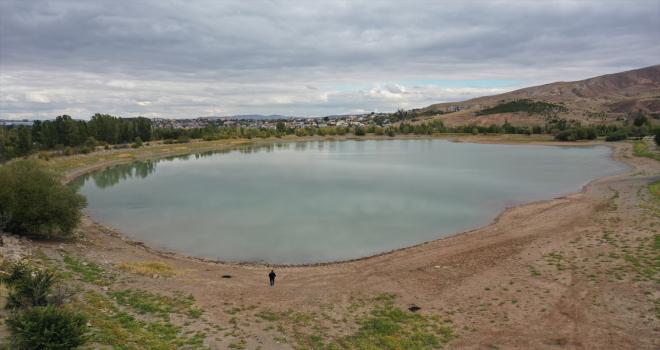 Bozkırın ortasındaki Sivas'ta gölete su üstü ahşap yürüyüş yolları yapılacak