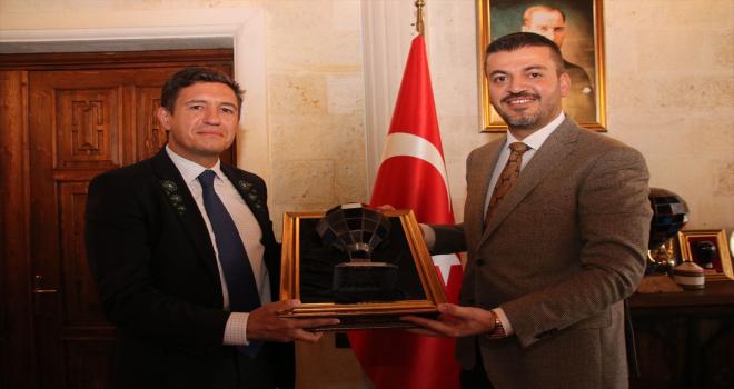 Bulgaristan'ın Ankara Büyükelçisi Tcholakov Ürgüp'te