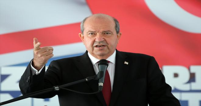 Cumhurbaşkanı Yardımcısı Oktay, Altındağ Belediyesi Kıbrıs Şehitleri Parkı Açılış Töreni'nde konuştu: