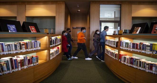 Cumhurbaşkanlığı Millet Kütüphanesinde otizmli öğrenciler için etkinlik