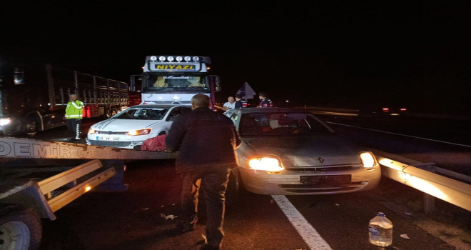 Eskişehir'de 4 aracın karıştığı zincirleme kazada 7 kişi yaralandı