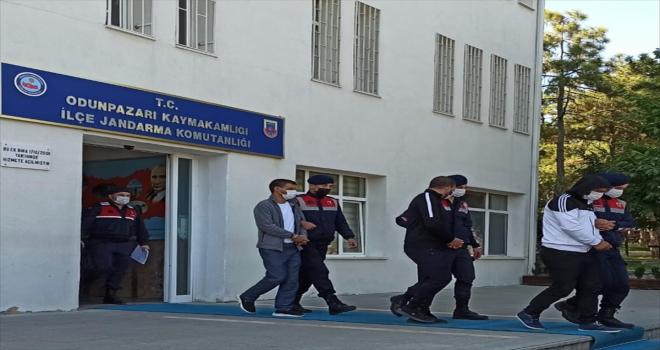 Eskişehir'de kullanılmayan taş ocağından hırsızlıkla ilgili 2 kişi tutuklandı