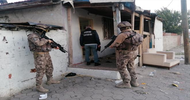 Eskişehir'de uyuşturucu operasyonunda 14 şüpheli yakalandı