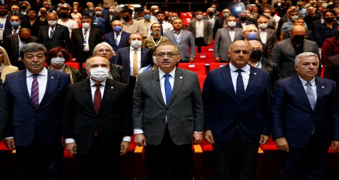 İYİ Parti Grup Başkanı Tatlıoğlu, Kayseri'de konuştu: