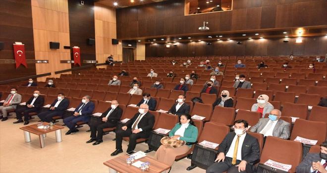 Karaman'da İl Milli Eğitim Danışma Komisyonu toplantısı yapıldı