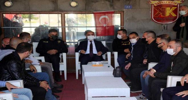 Kayseri Valisi Günaydın'dan Kayserispor taraftar derneğine ziyaret