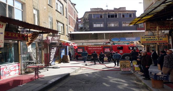 Kırıkkale'de akrabalarının kıraathanesini ateşe veren 3 şüpheli yakalandı