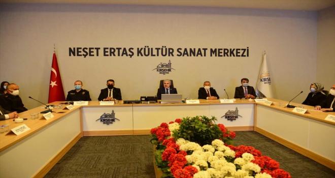 Kırşehir'de Bağımlılıkla Mücadele İl Koordinasyon Kurulu Toplantısı yapıldı