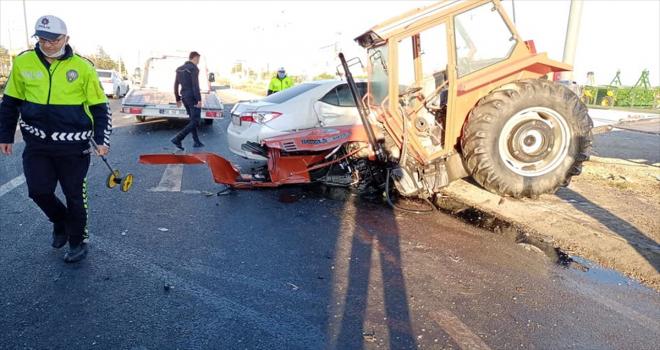 3 Aracın karıştığı kazada 1 kişi öldü, 2 kişi yaralandı