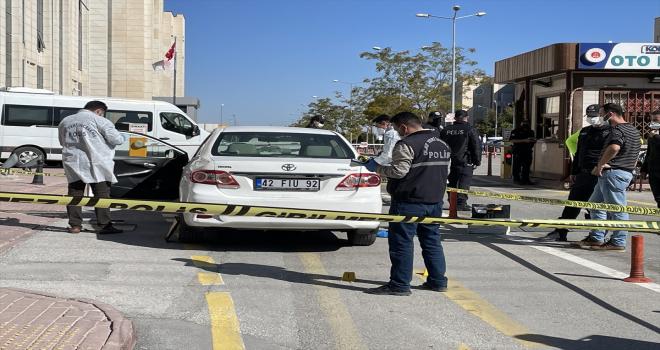Konya'da avukat bacağından silahla vuruldu