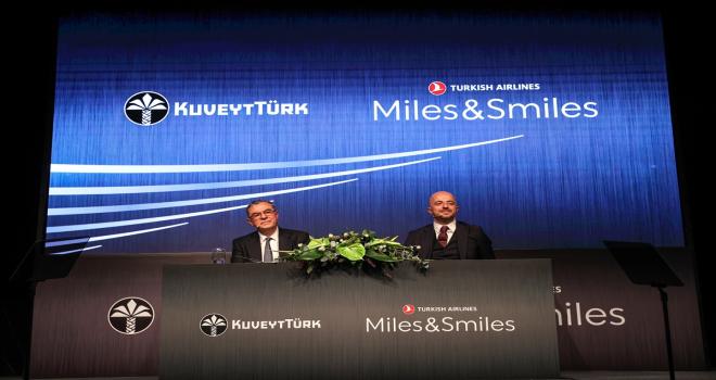 Kuveyt Türk ve THY güçlerini Miles&Smiles ile birleştirdi