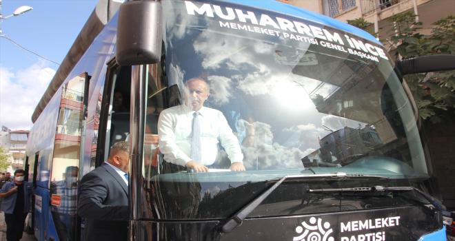 Memleket Partisi Genel Başkanı İnce, Antalya ziyaretlerine Serik ilçesiyle devam etti
