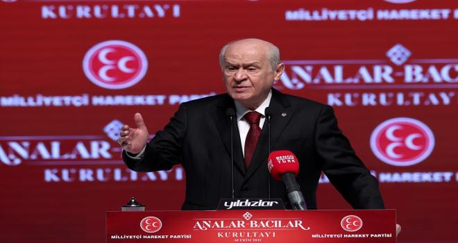 MHP Genel Başkanı Bahçeli,