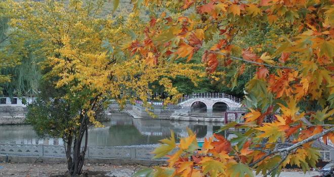 Orta Toroslar sonbahar renklerine büründü