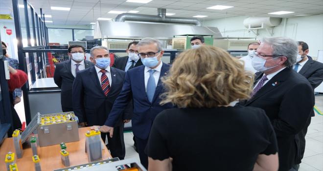 Savunma Sanayii Başkanı Demir'den, ASPİLSAN Enerji'ye ziyaret