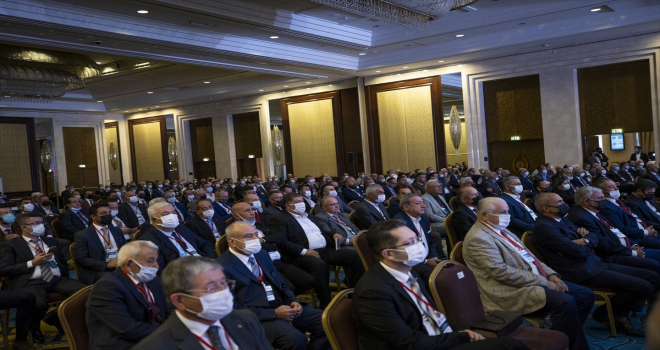 TBMM Başkanı Şentop, PÜİS 21. Olağan Genel Kurulu'nun açılışında konuştu: