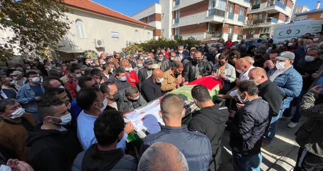 Türkiye Bilek Güreşi Milli Takımı Antrenörü Şener Arslan son yolculuğuna uğurlandı