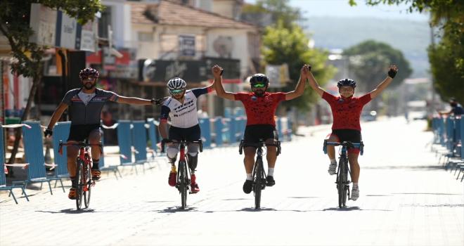 Uluslararası Patara Granfondo Bisiklet Yarışı sona erdi