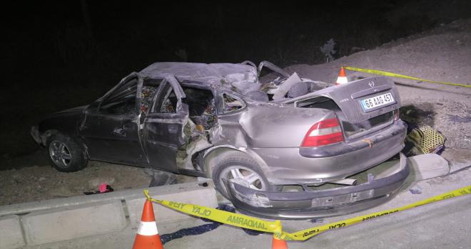 Yozgat'ta trafik kazasında 1 kişi öldü, 6 kişi yaralandı