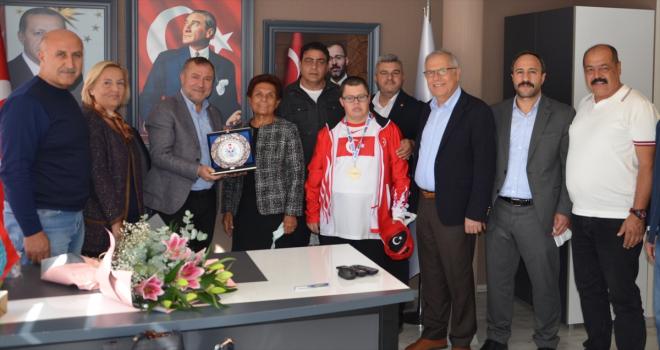 ZİÇEV Genel Başkanı Ülay Karakoç'dan TOSSFED'e ziyaret