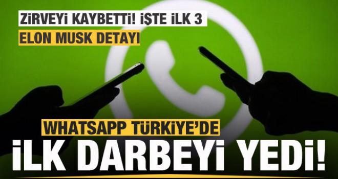 Whatsapp'a Türk kullanıcılardan büyük darbe!