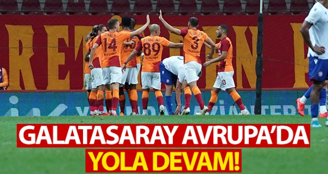 Galatasaray 2 - 0 Hajduk Split Maç Özeti ve Golleri İzle| GS Hajduk Split Kaç Kaç Bitti