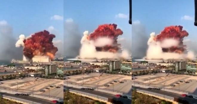 Beyrut'taki patlamada en az 100 ölü, 4 binden fazla yaralı