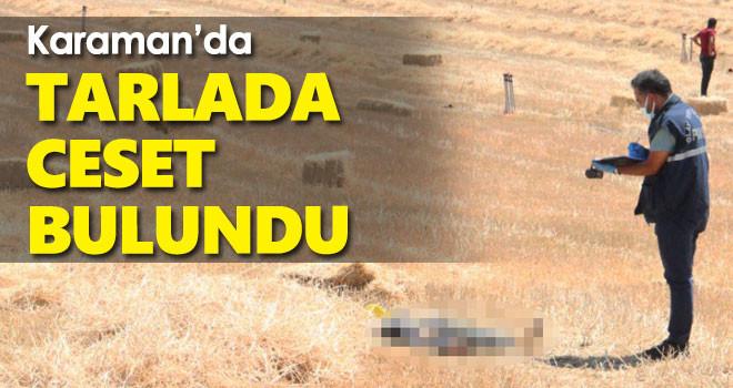 Karaman'da tarlada çalışırken traktörden düşen kişi öldü