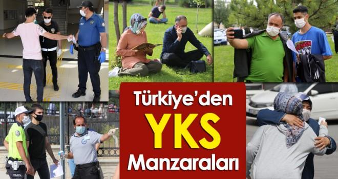 Türkiye'den YKS Manzaraları