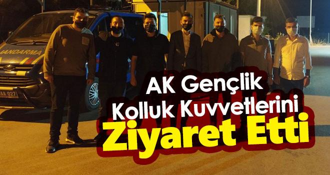 AK Parti Karaman İl Gençlik Kolları Başkanlığı Kolluk Kuvvetleri Ziyaret Etti