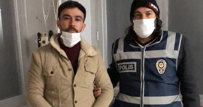 Eşi ve kızının üzerine kaynar su döken zanlı tutuklandı