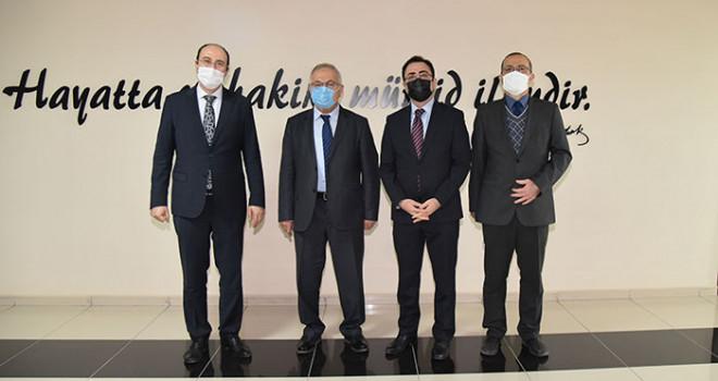 Mevka Genel Sekreteri Bostancı'dan Rektör Namık Ak'a Ziyaret