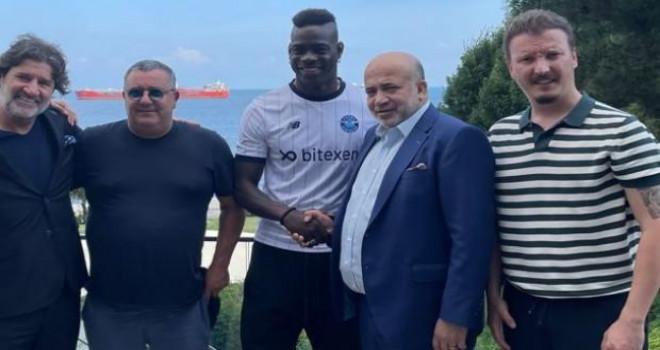 Mario Balotteli resmen Adana Demirspor'da!