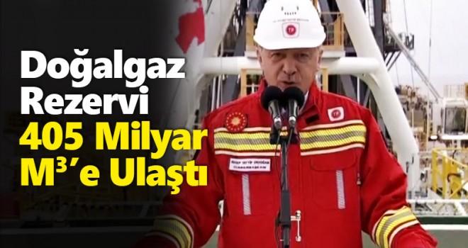 Cumhurbaşkanı Erdoğan: Doğal Gaz Rezervi Yükseldi